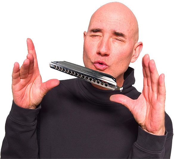 Dave Magic Chormatic Harmonica
