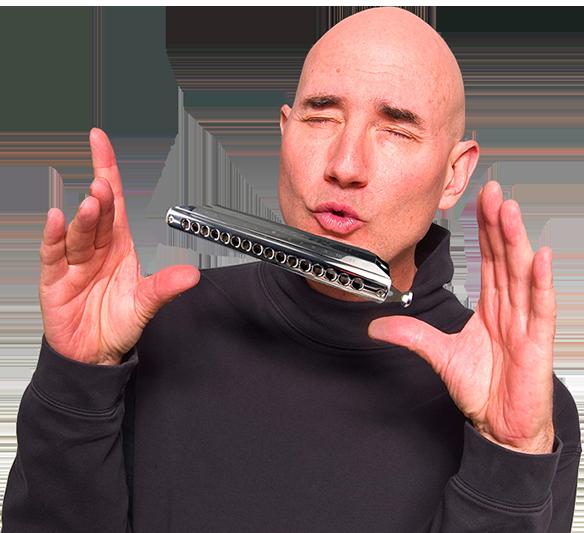 Dave Magic Chormatic Harmonica