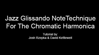 Jazz Glissando NoteTechnique