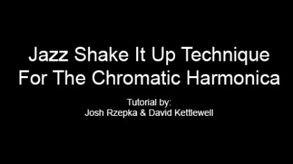 Jazz Shake It Up Technique