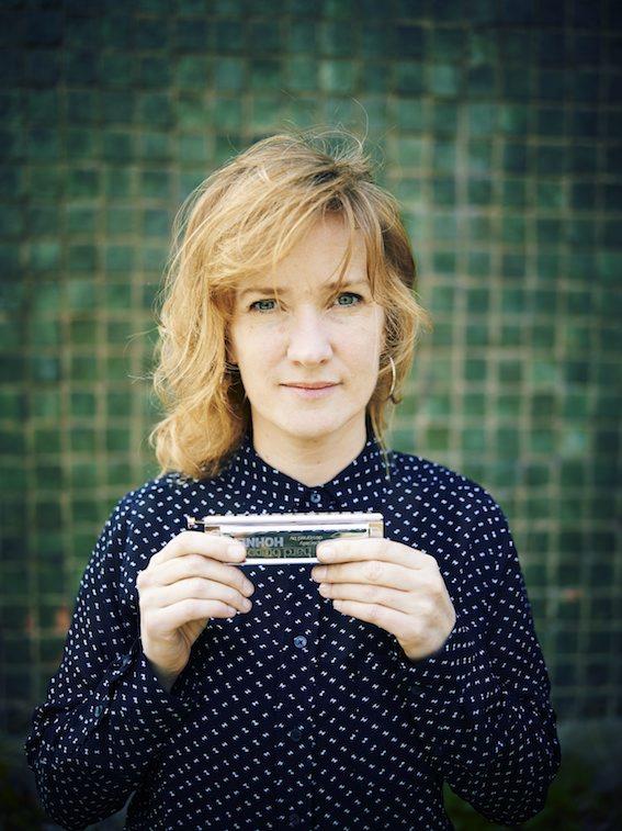 Nederland, 3 april 2014 Hermine Deurloo, chromatische mondharmonica  Foto: Merlijn Doomernik